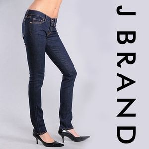 "J BRAND | ""The Deal"" Skinny Jeans with Ankle Zips"
